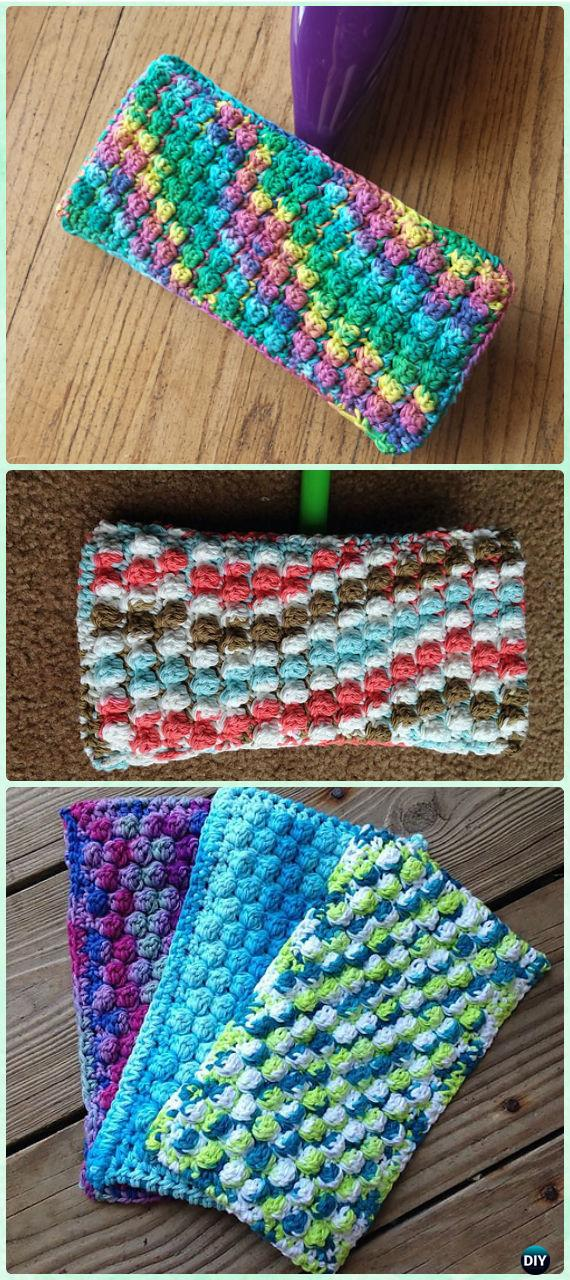 Knit Crochet Swiffer Pads Covers Free Patterns