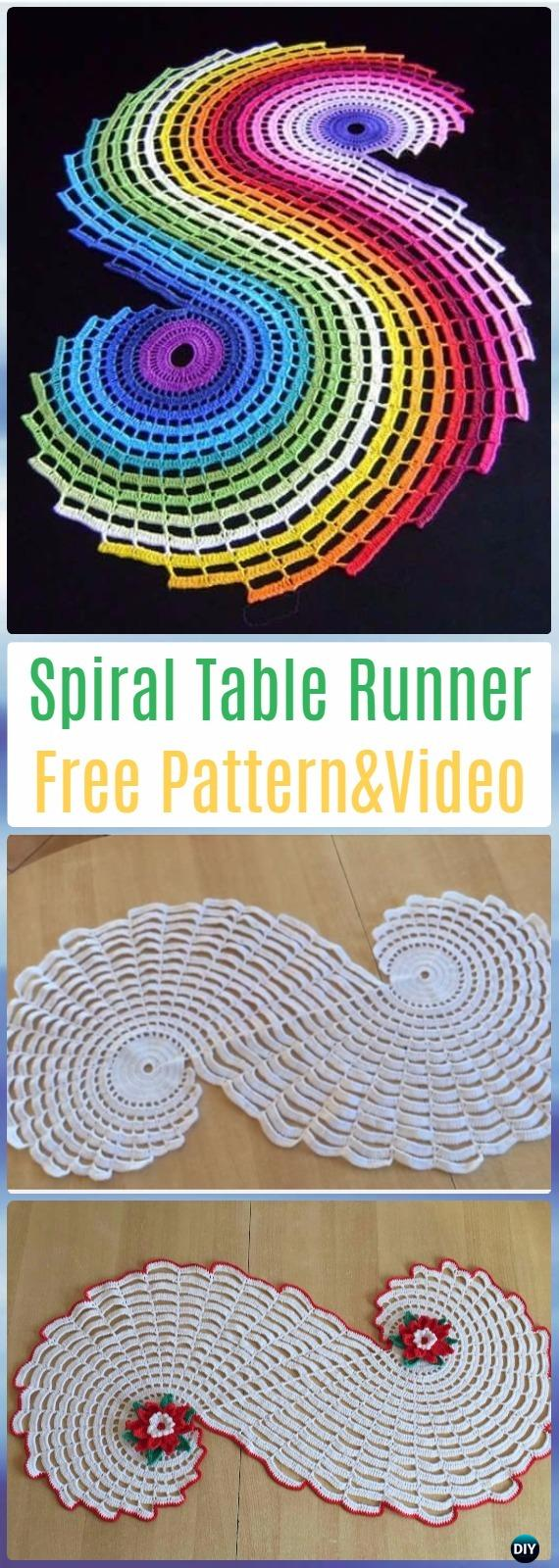 Crochet Table Runner Free Patterns Amp Tutorials