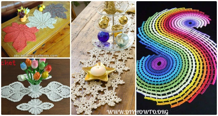 Crochet Table Runner Free Patterns Tutorials