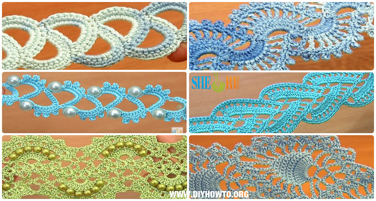 Crochet Tape Lace Free Patterns Tutorials