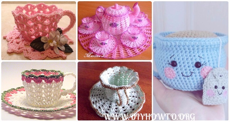 Crochet Teacup Free Patterns Tutorials