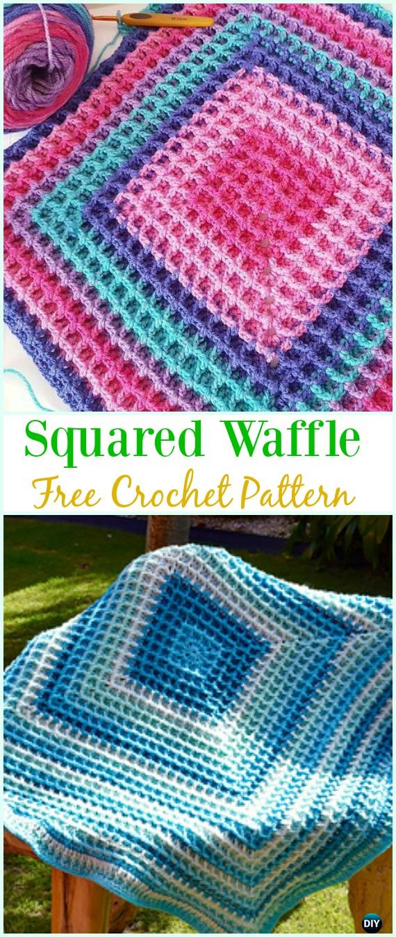 Crochet Waffle Stitch Free Patterns Amp Variations