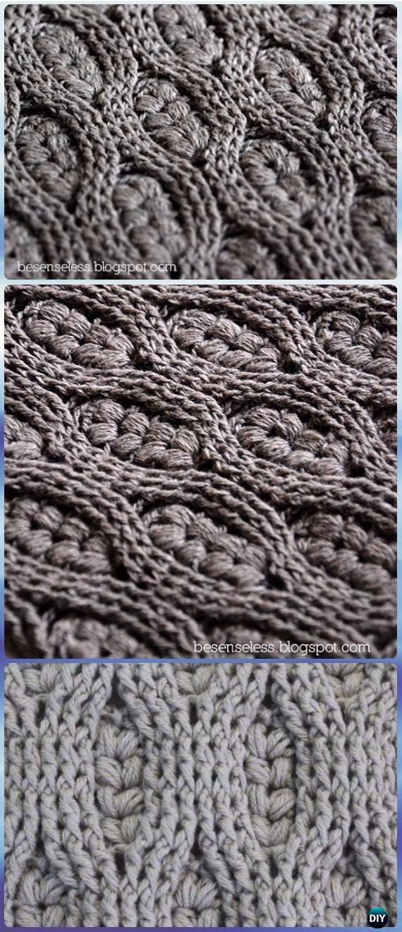 Crochet Wheat Stitch Free Pattern Amp Video Instruction