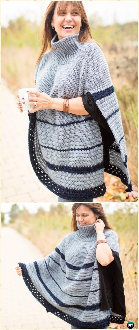 Crochet Women Capes Amp Poncho Patterns Amp Tutorials