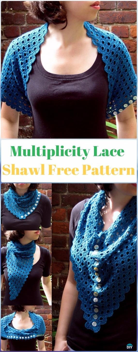 48 Crochet Women Shawl Outwear Free Patterns