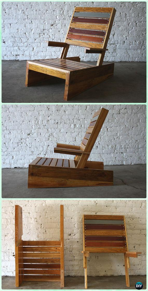 DIY Scrap Adirondack Chair Free Plan and Tutorial