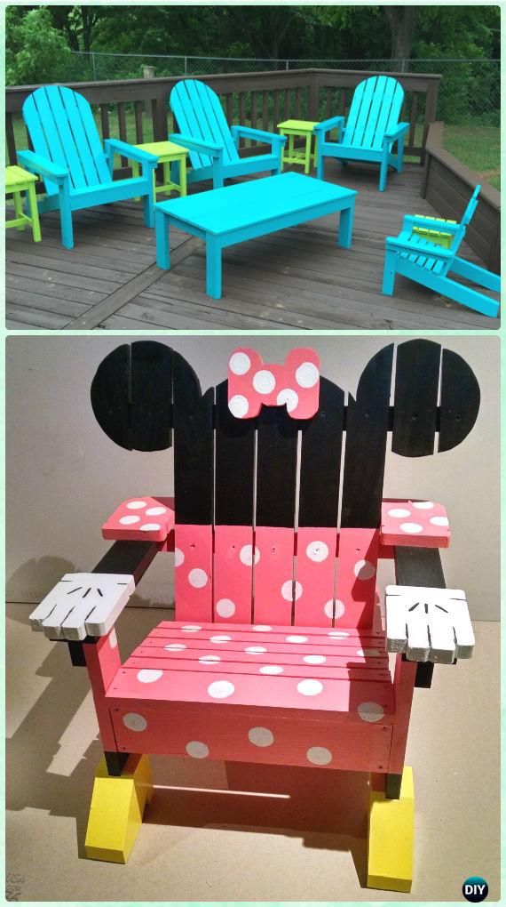 DIY Super Easy Adirondack Chair Free Plans