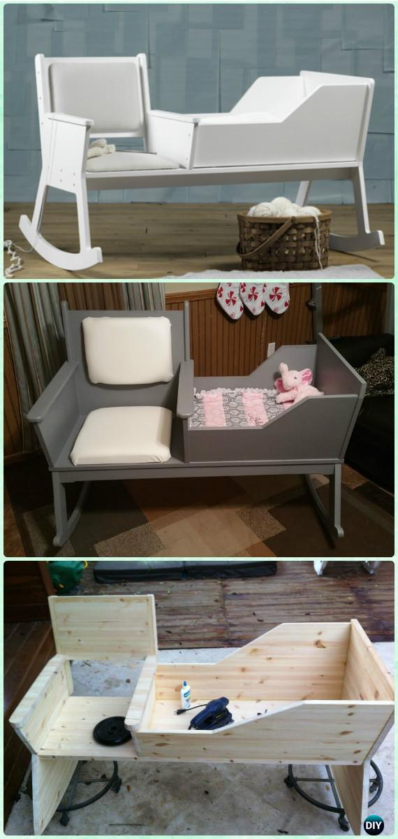 Diy Rocking Chair Crib Instruction Diy Baby Crib Projects