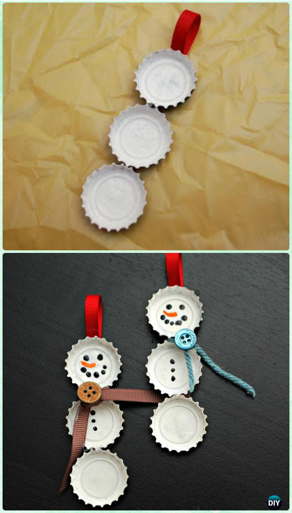 20 Easy Diy Christmas Ornament Craft Ideas For Kids To Make