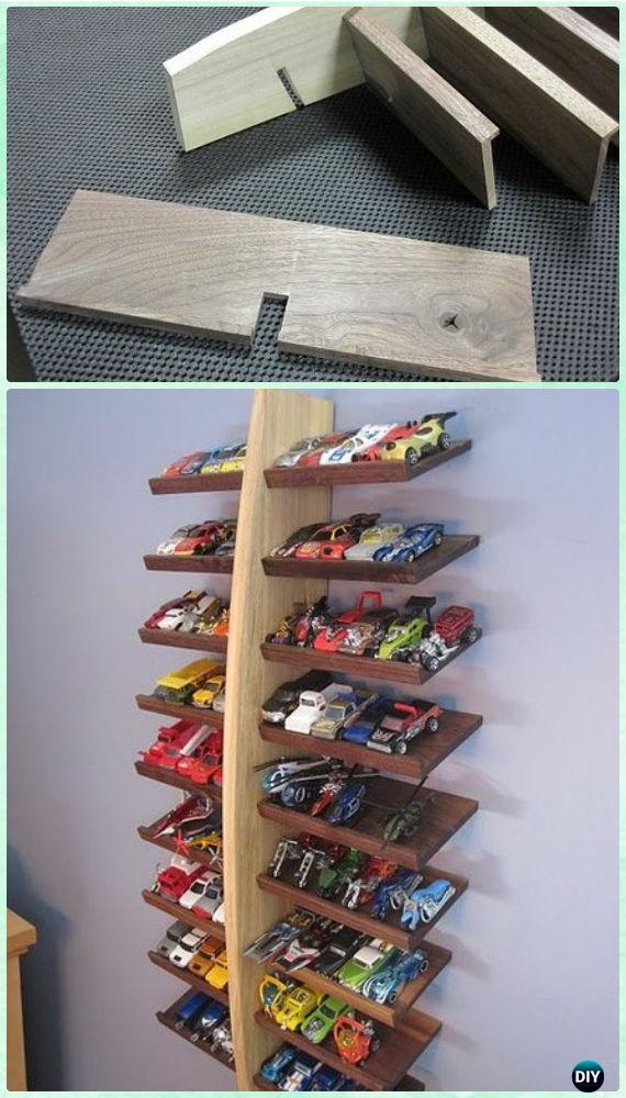 Diy Wood Hotwheels Display Shelf Instructions Diy Craft Projects You Can Make And Sell