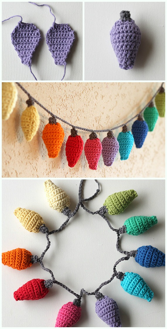 Crochet Christmas Ornaments Patterns Free.Diy Crochet Christmas Ornament Free Patterns