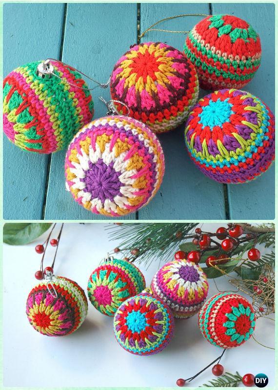 DIY Crochet Christmas Ornament Free Patterns