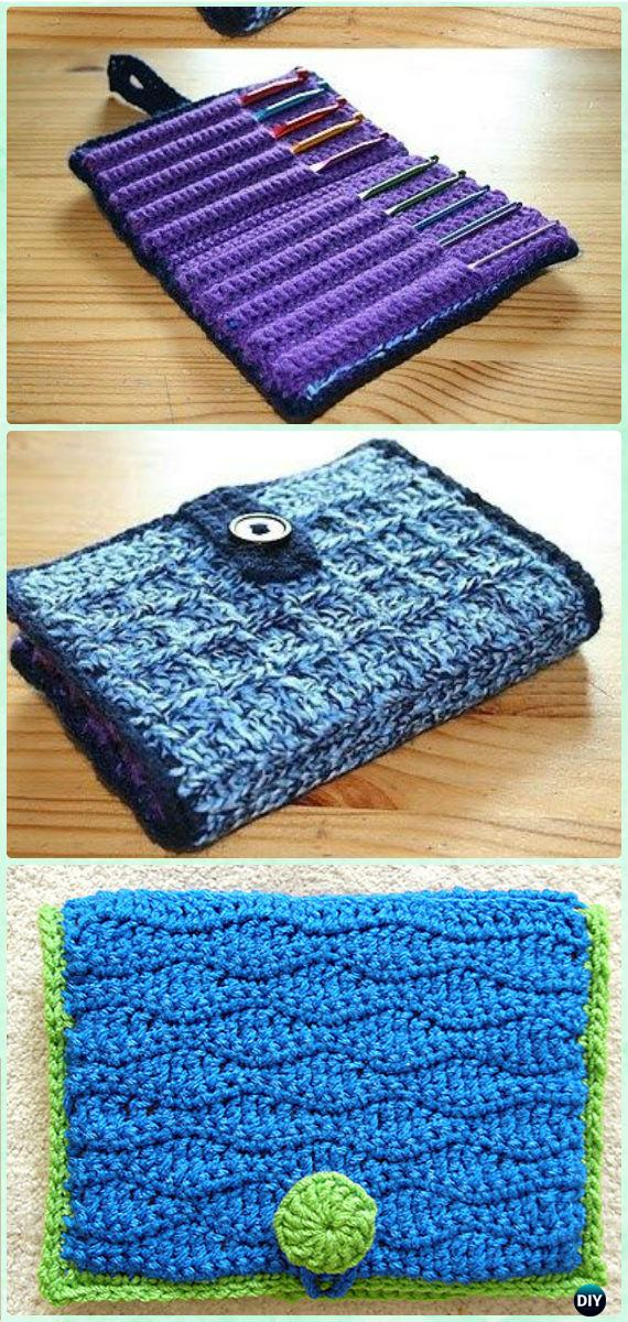 Crochet Hook Case Free Pattern - DIY Gift Ideas for Crocheters