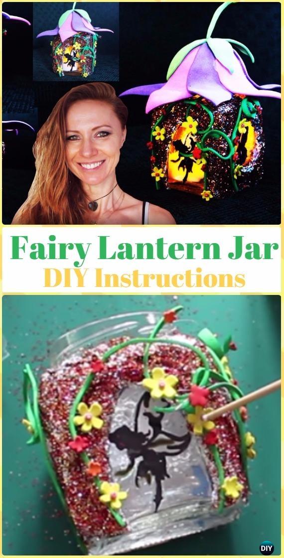 DIY Fairy Lantern Jar Tutorial Video - DIY Fairy Light Projects & Instructions