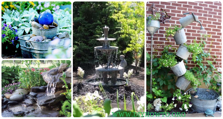 diy fountain landscaping ideas projects with instructions diy how to