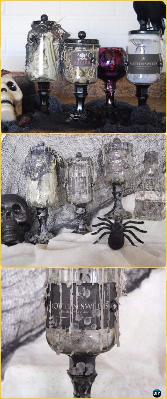 DIY The Creepiest Specimen Jars Ever Tutorial - DIY Halloween Mason Jar Craft Ideas Projects