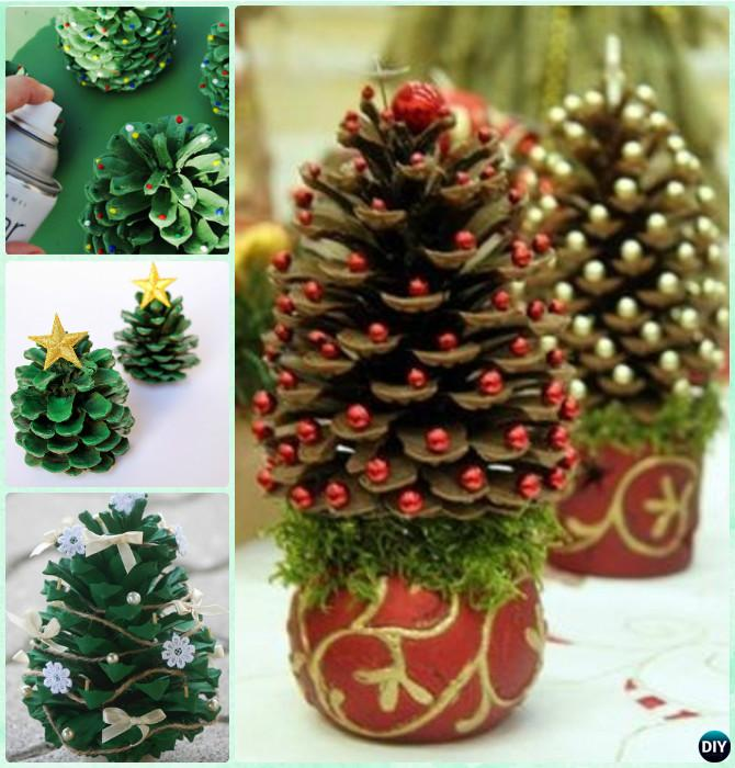 craft ideas with pine cones for kids