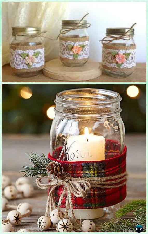 Christmas Mason Jars Gift Ideas
