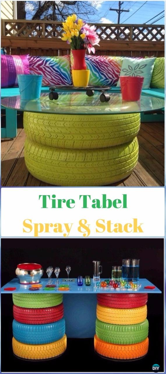 Diy Recycled Old Tire Furniture Ideas Amp Projects For Home