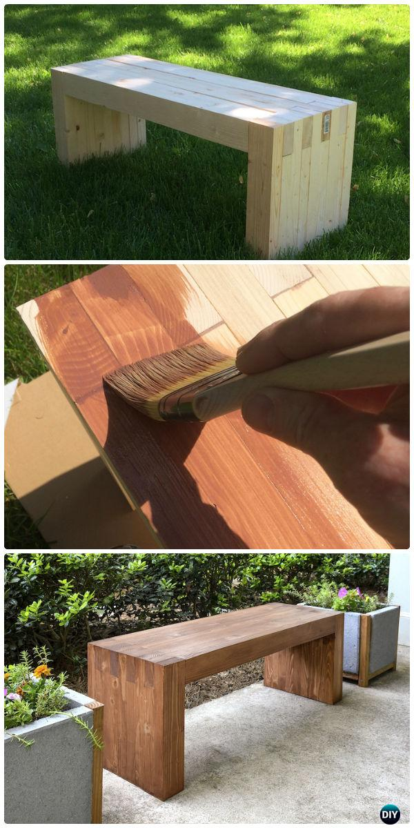 Diy Williams Sonoma Inspired Outdoor Bench Instructions