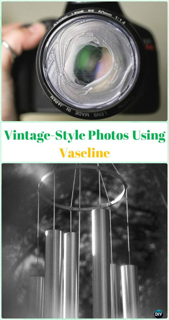 Vintage-Style Photos Using Vaseline Tutorial - DIY Photography Tips Camera Tricks