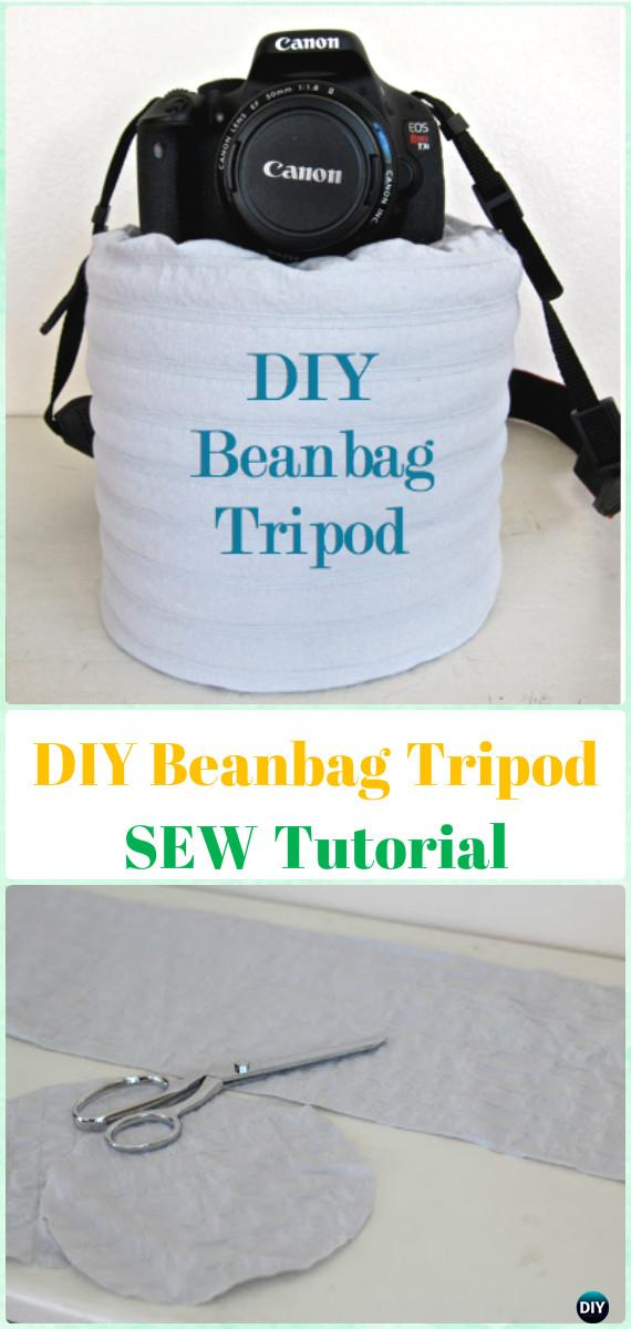DIY Beanbag Tripod  SEW Tutorial- DIY Photography Tips Camera Tricks