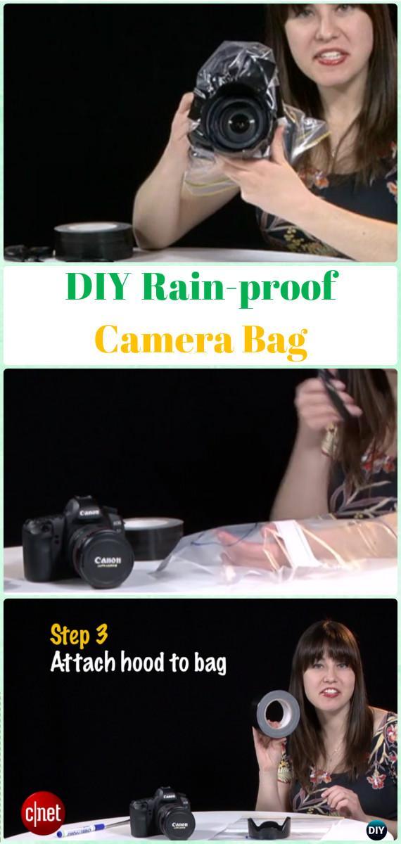DIYRain-proof Camera Bag Tutorial - DIY Photography Tips Camera Tricks