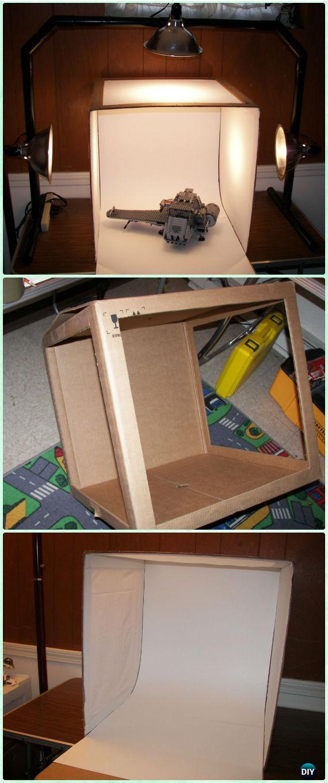 DIY Photography Light Box Tutorial - DIY Photography Tips Camera Tricks