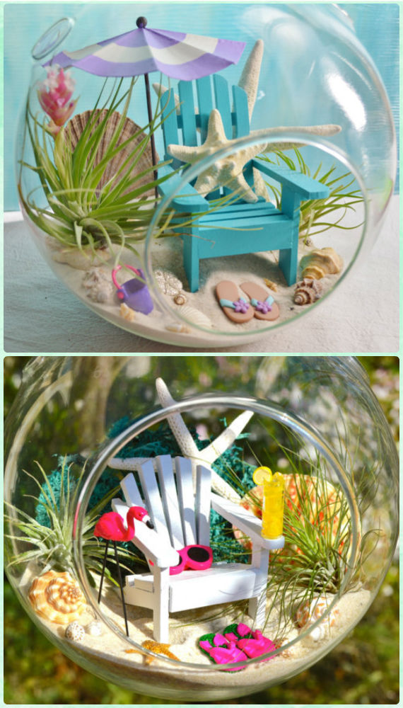Diy Beach Sand Terrarium Diy Sand Art Terririum Ideas Projects