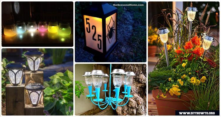Diy solar light craft ideas for home and garden lighting solutioingenieria Gallery