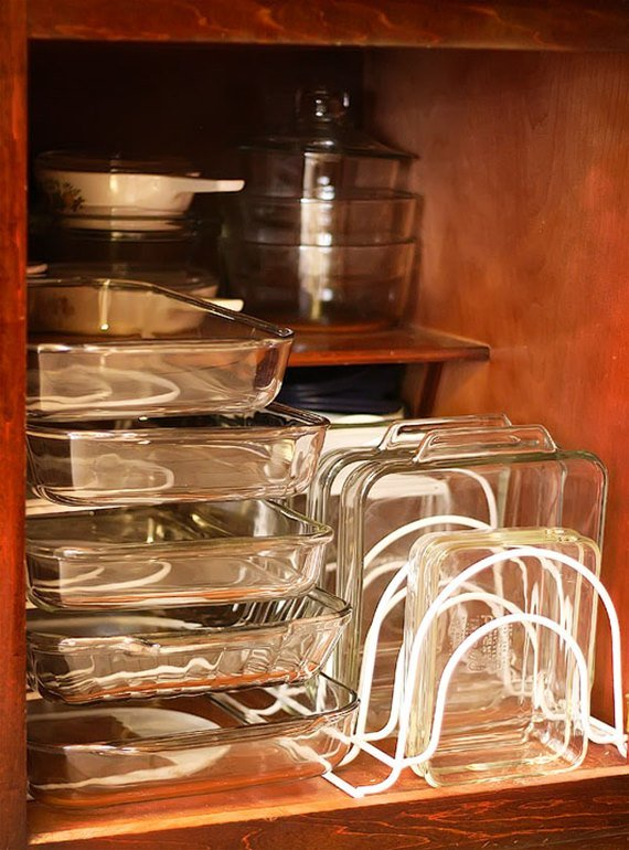 Organize Kitchen Cabinet - DIY Space Saving Hacks to Organize Your Kitchen