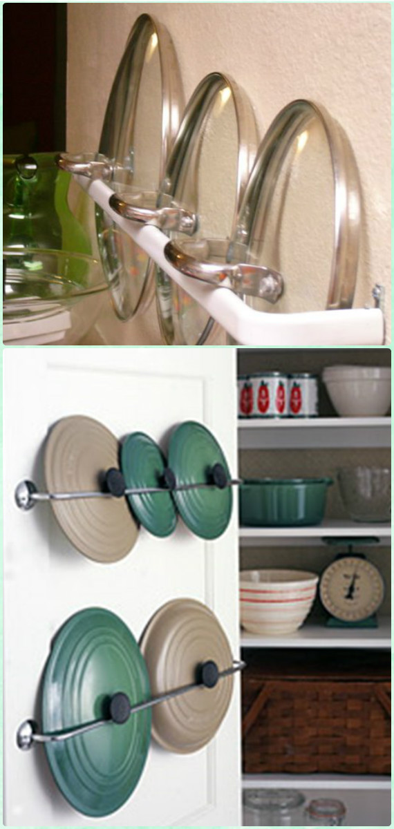 Diyhowto Diy Space Saving Hacks To Organize Your Kitchen on Under Cabinet Slider