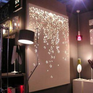 Wall Art Lighting diy string light backlit canvas art ideas crafts
