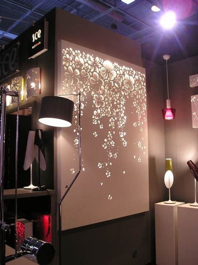 Lights For Wall Decor : DIY String Light Backlit Canvas Art Ideas Crafts - Light Up Canvas Wall Decor ? DIY How To