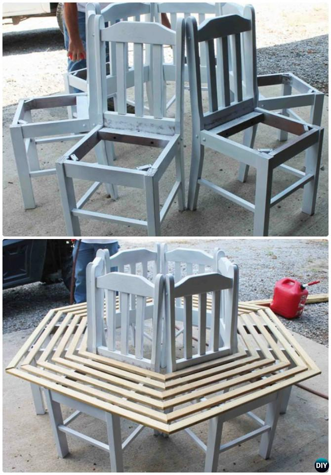 DIY Repurposed Chair Craft Ideas Projects [Picture