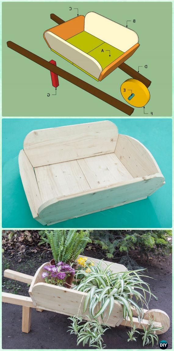 Diy Wheelbarrow Garden Projects Amp Instructions