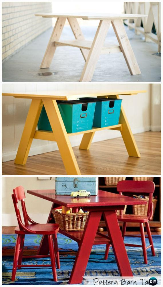 Easy Diy Back To School Kids Furniture Ideas Projects Instructions