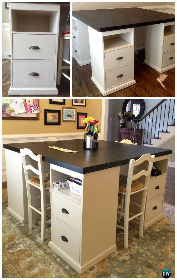 Easy diy back to school kids furniture ideas projects instructions - Pottery barn schoolhouse chairs ...