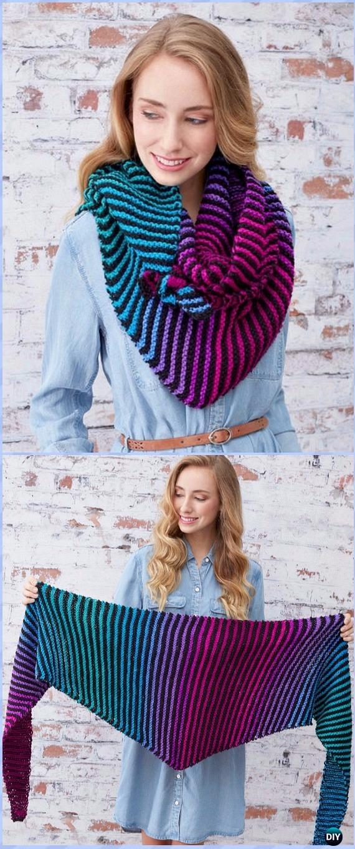 Brighten My Day Wrap Free Knitting Pattern - Women #Shawl; Wrap Free #Knitting; Patterns