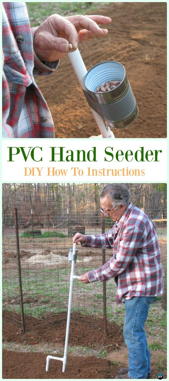 PVC Hand Seeder DIY Instructions - Low Budget DIY PVC Garden Projects