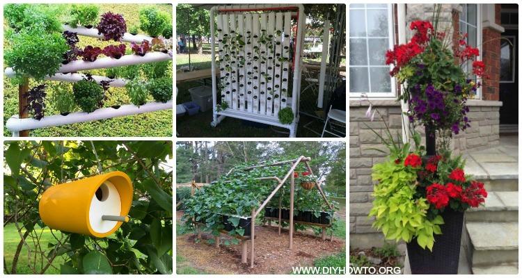 DIY PVC Garden Projects with Instructions-PVC Gardening ideas • DIY ...