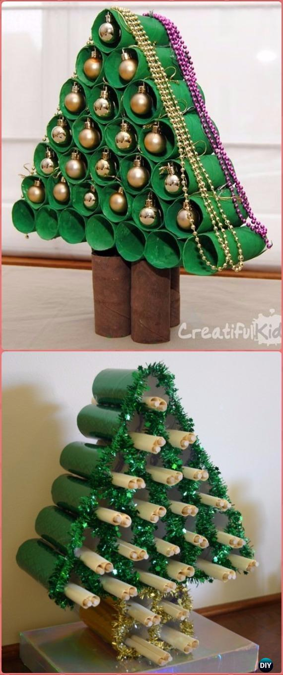 Diy Paper Roll Christmas Craft Ideas Amp Projects Instructions