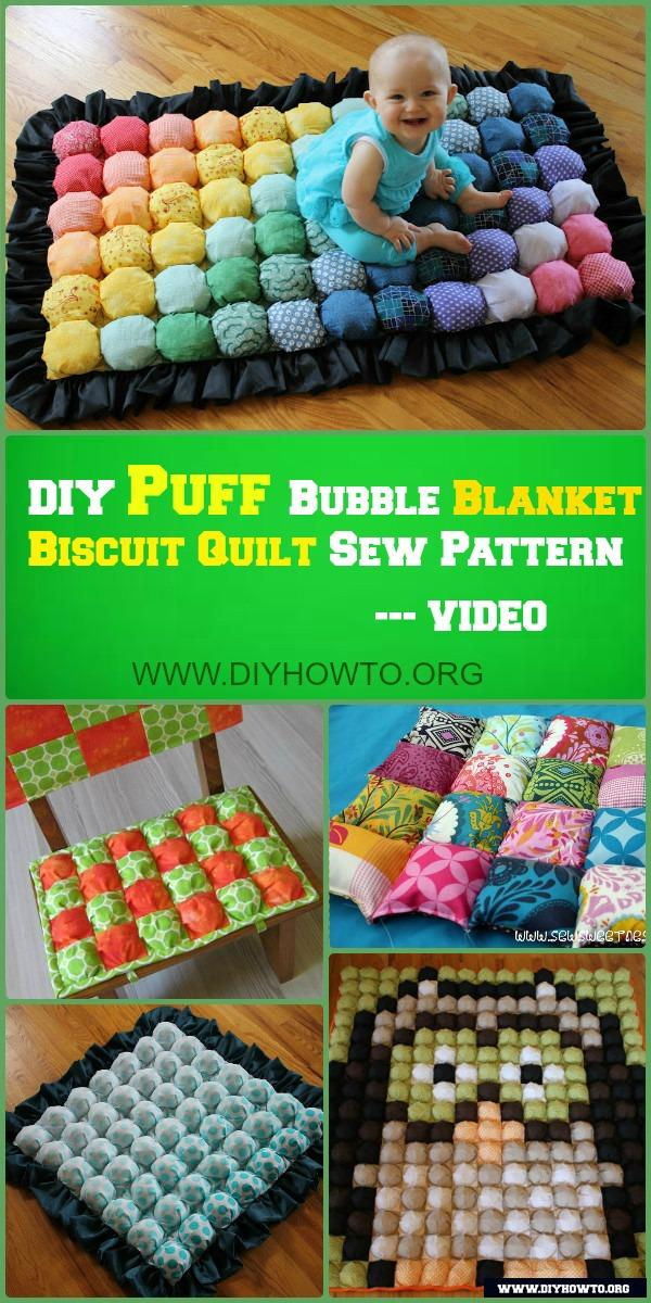How to Sew a Biscuit or Puff Quilt
