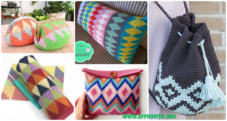 Wayuu Mochila Tapestry Crochet Free Patterns Tips Guide Stunning Tapestry Crochet Patterns Free