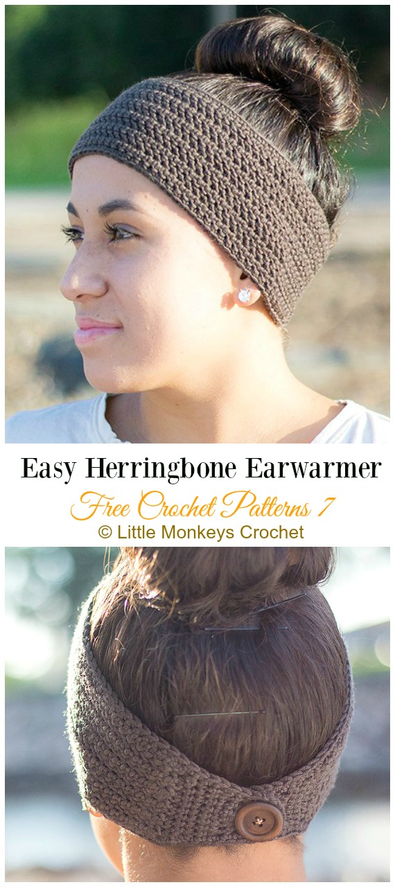 Trending Women Ear Warmer Free Crochet Patterns