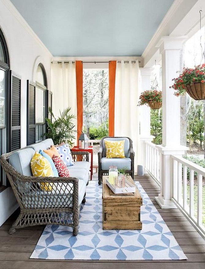Front Porch Seating Area-20 DIY Porch Decorating Ideas Projects