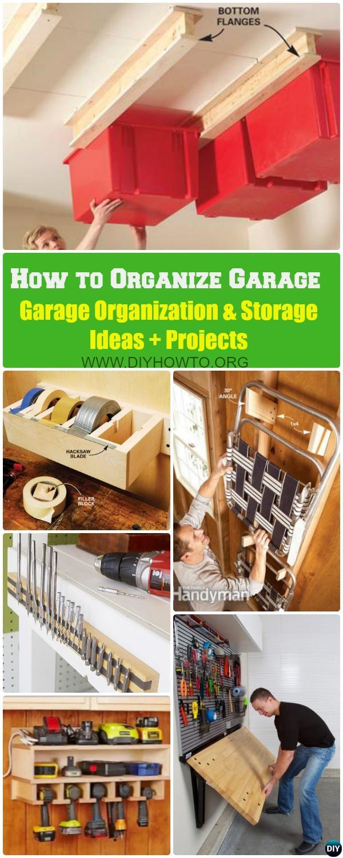 How to Organize Your Garage: Garage Organization and Storage Ideas