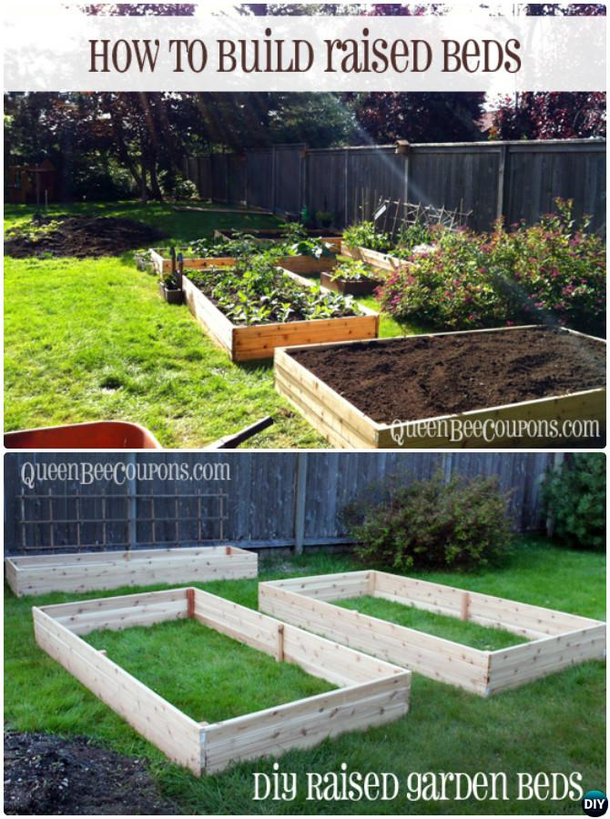 Diy Raised Garden Bed Ideas Instructions Free Plans