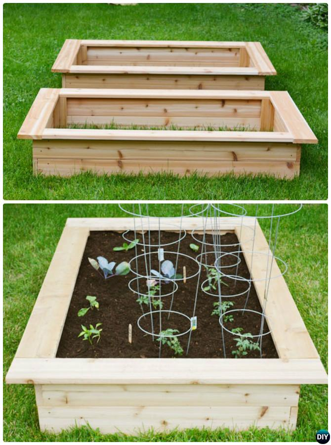 Ordinaire How To Build Raised Garden Box Bed 20 DIY Raised Garden Bed Ideas  Instructions
