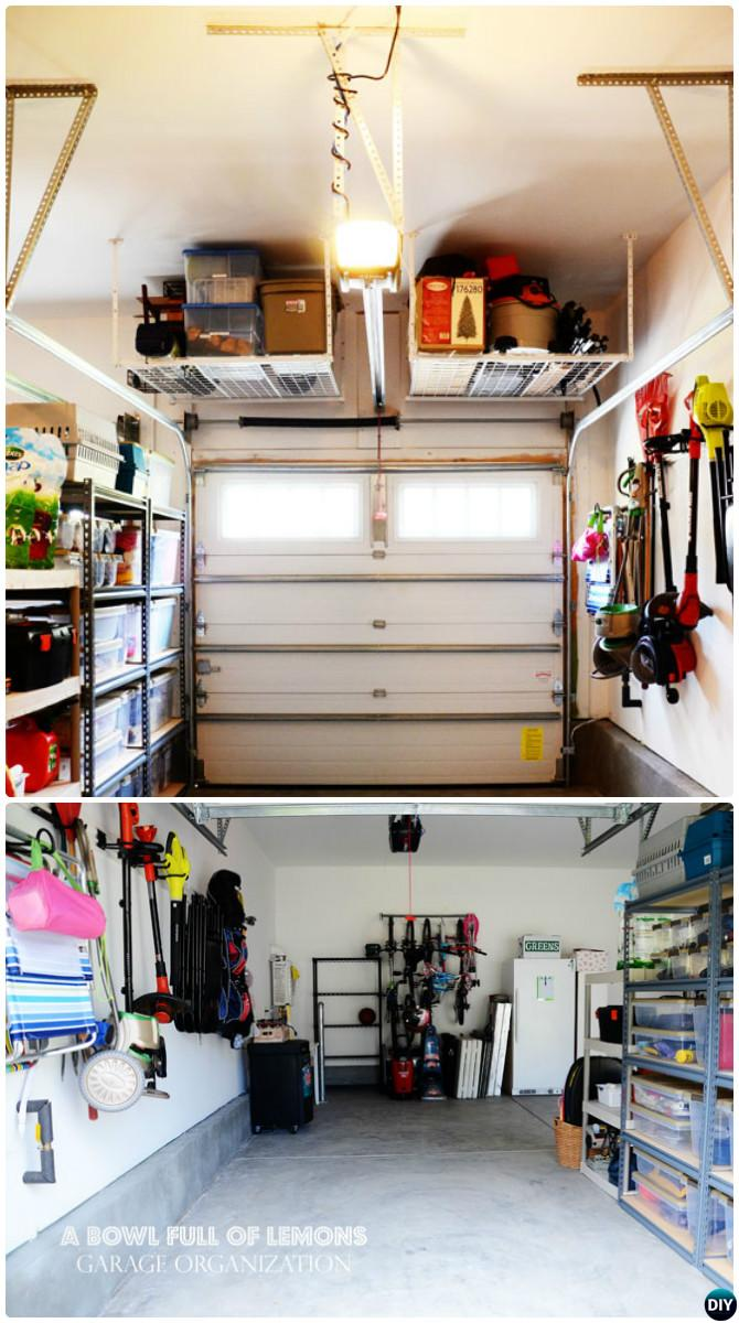 Hyloft Shelf Storage-How to Organize Garage